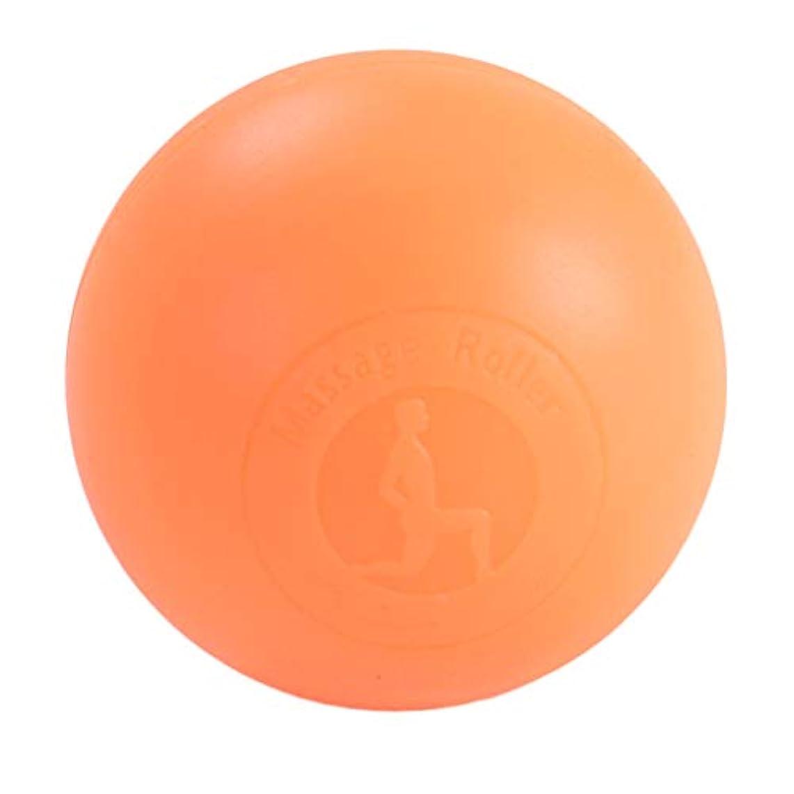 願う印象的多様なFenteer マッサージボール ボディーマッサージ 2色選べ - オレンジ