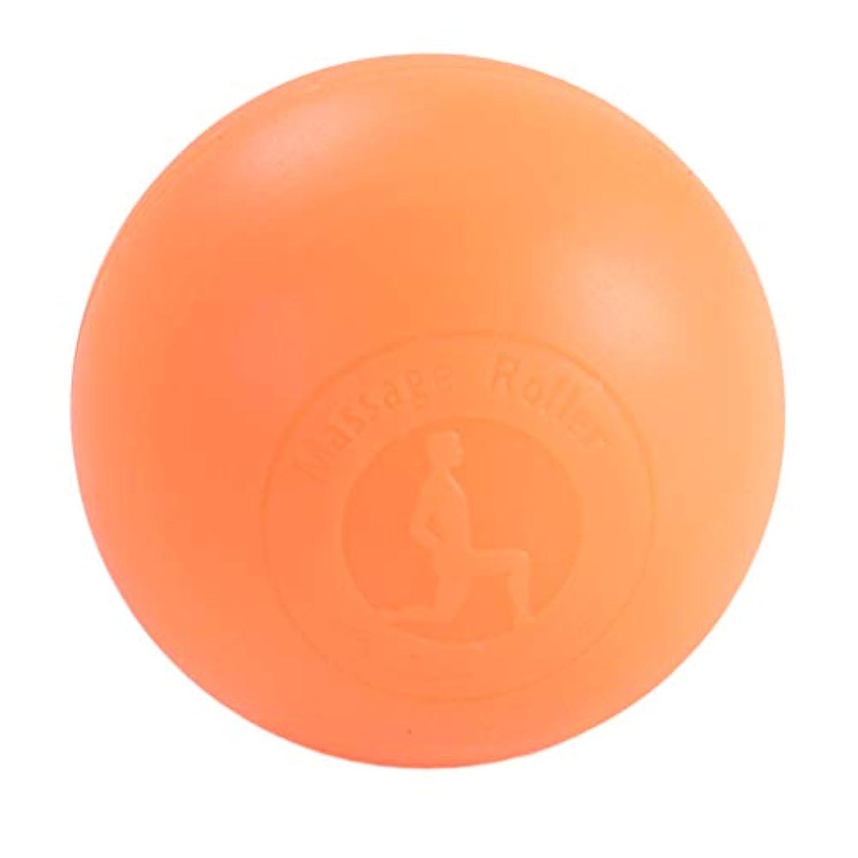 ハチ管理します薄いFenteer マッサージボール ボディーマッサージ 2色選べ - オレンジ