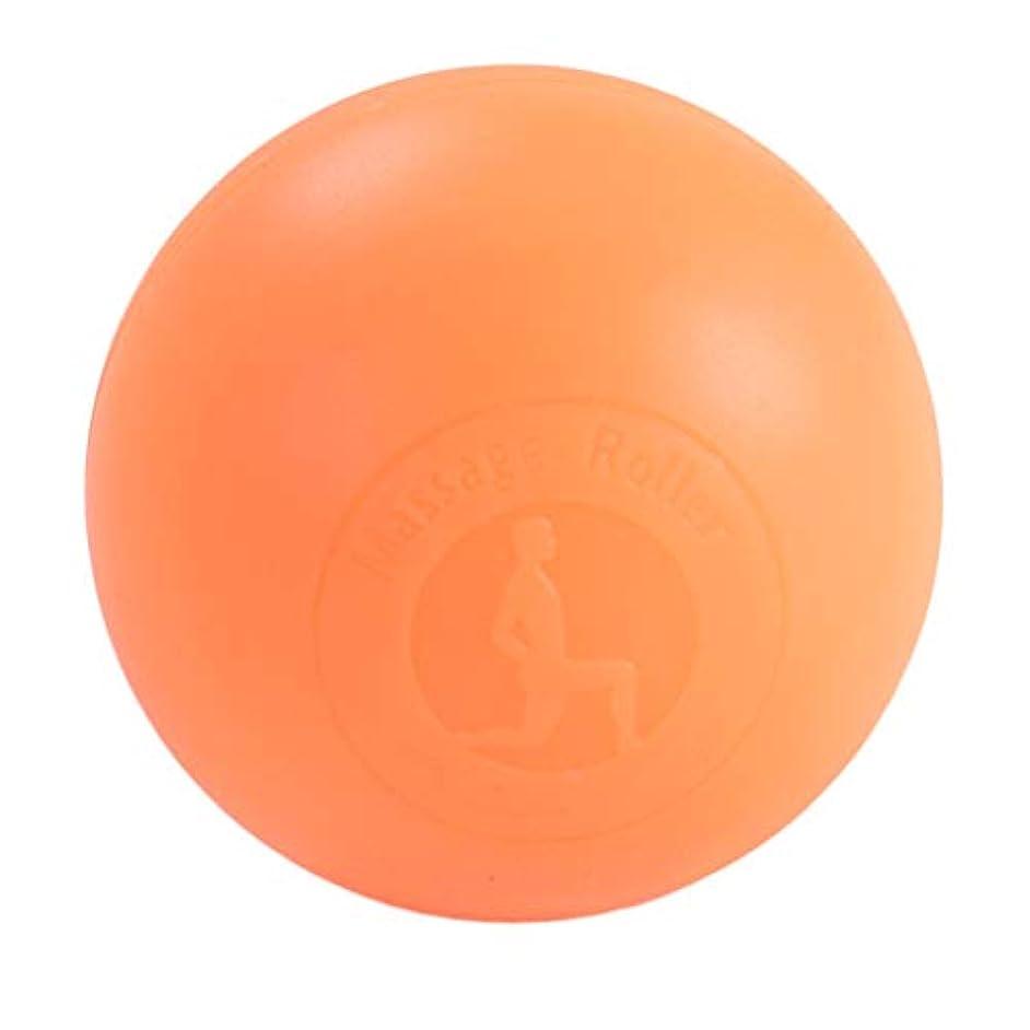 変成器正確に序文Fenteer マッサージボール ボディーマッサージ 2色選べ - オレンジ