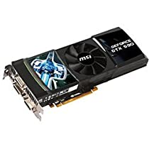 MSI Computer ビデオカード NVIDIA GeForce GTX 590/PCI Express x16/3072MB N590GTX-P3D3GD5