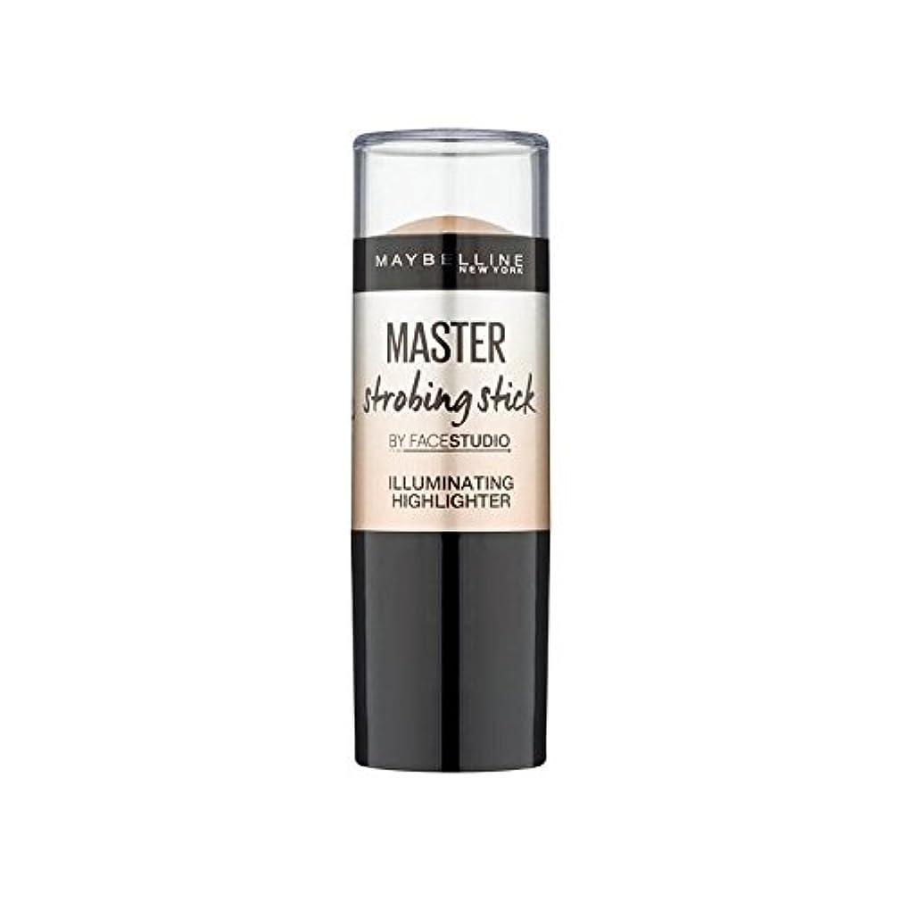 細菌可能性別れるメイベリンマスターストロボスティック媒体 x4 - Maybelline Master Strobing Stick Medium (Pack of 4) [並行輸入品]