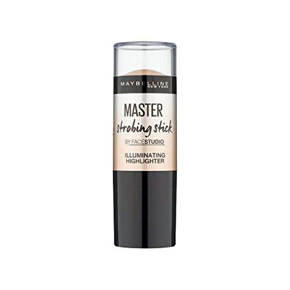ストレスの多い対奇跡Maybelline Master Strobing Stick Medium - メイベリンマスターストロボスティック媒体 [並行輸入品]