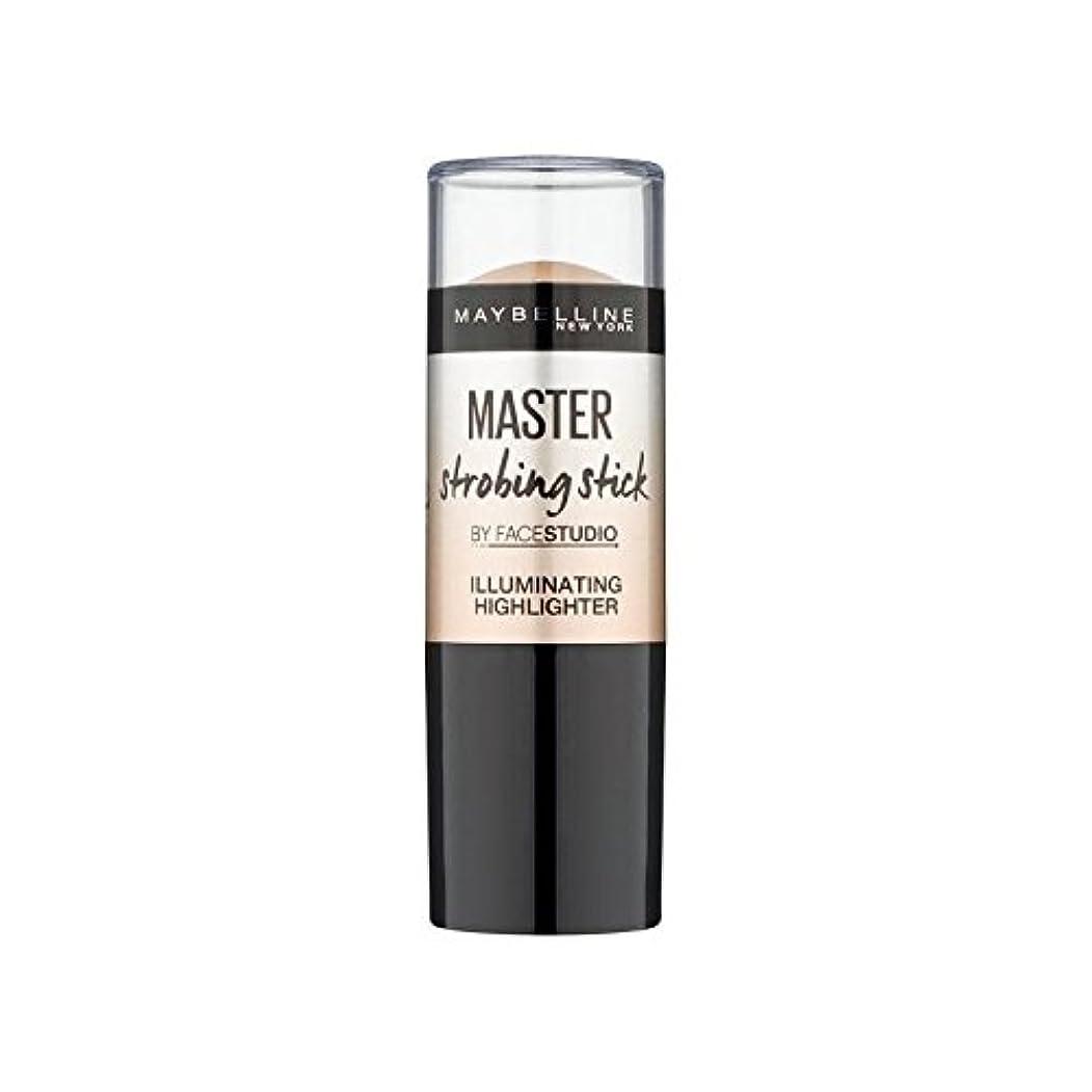 大胆不敵雑草委員会メイベリンマスターストロボスティック媒体 x4 - Maybelline Master Strobing Stick Medium (Pack of 4) [並行輸入品]