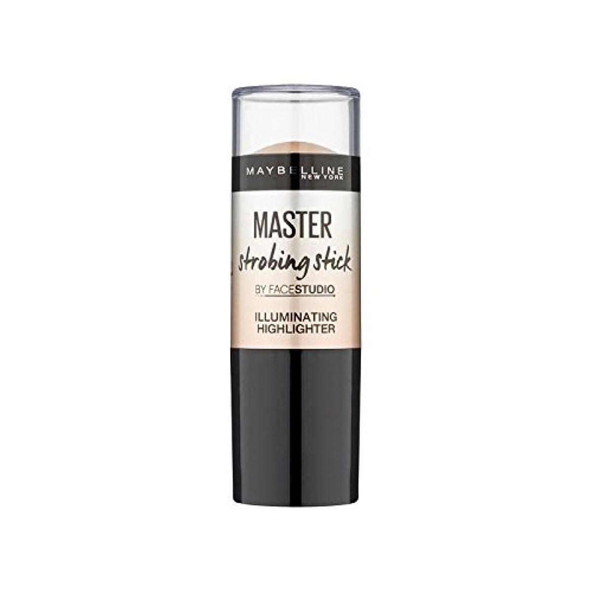 寸前戸口復活するメイベリンマスターストロボスティック媒体 x4 - Maybelline Master Strobing Stick Medium (Pack of 4) [並行輸入品]
