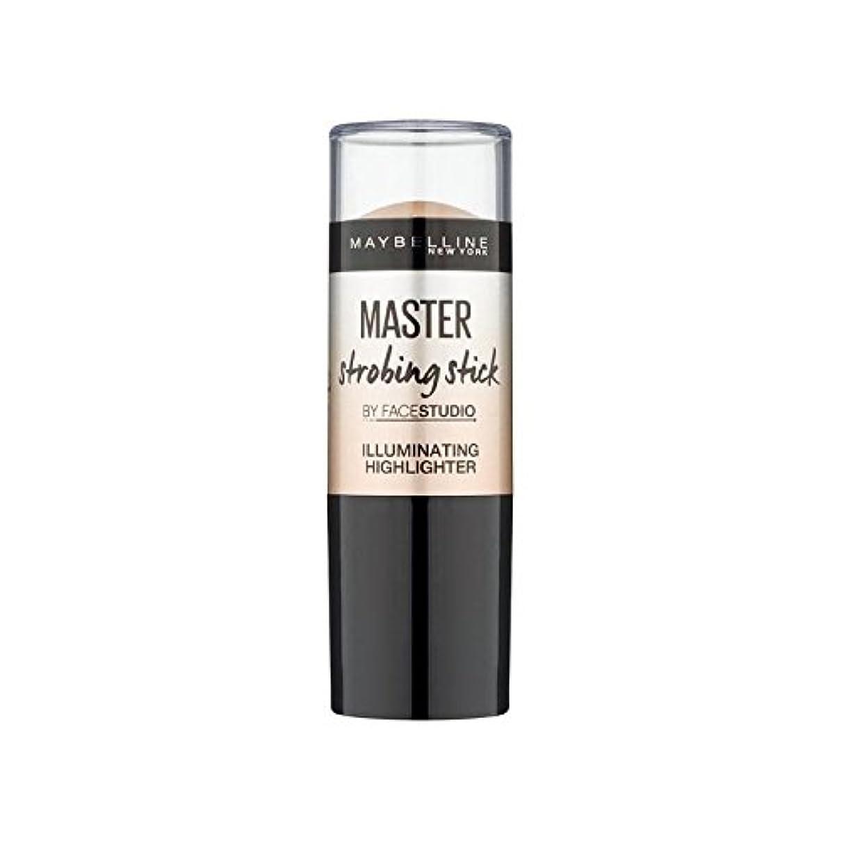 集まる。定期的にMaybelline Master Strobing Stick Medium (Pack of 6) - メイベリンマスターストロボスティック媒体 x6 [並行輸入品]