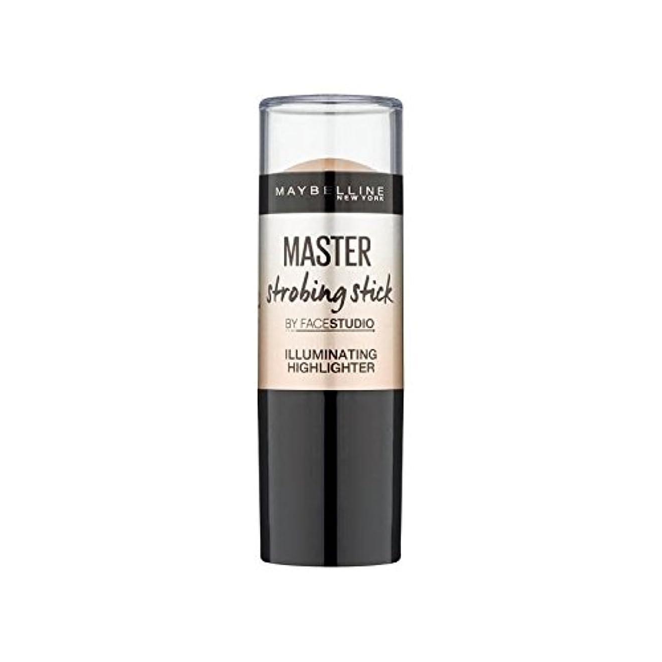 神秘的な変化霊メイベリンマスターストロボスティック媒体 x2 - Maybelline Master Strobing Stick Medium (Pack of 2) [並行輸入品]