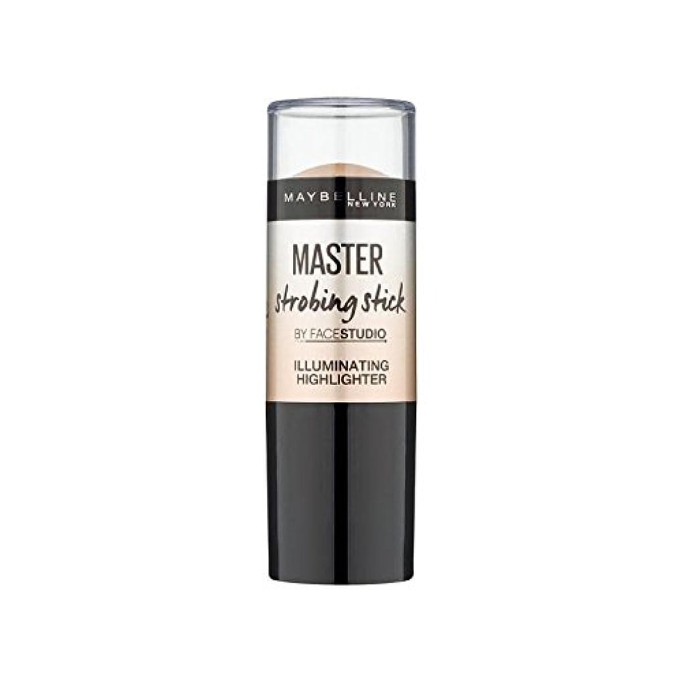 通行人悪性主婦メイベリンマスターストロボスティック媒体 x2 - Maybelline Master Strobing Stick Medium (Pack of 2) [並行輸入品]