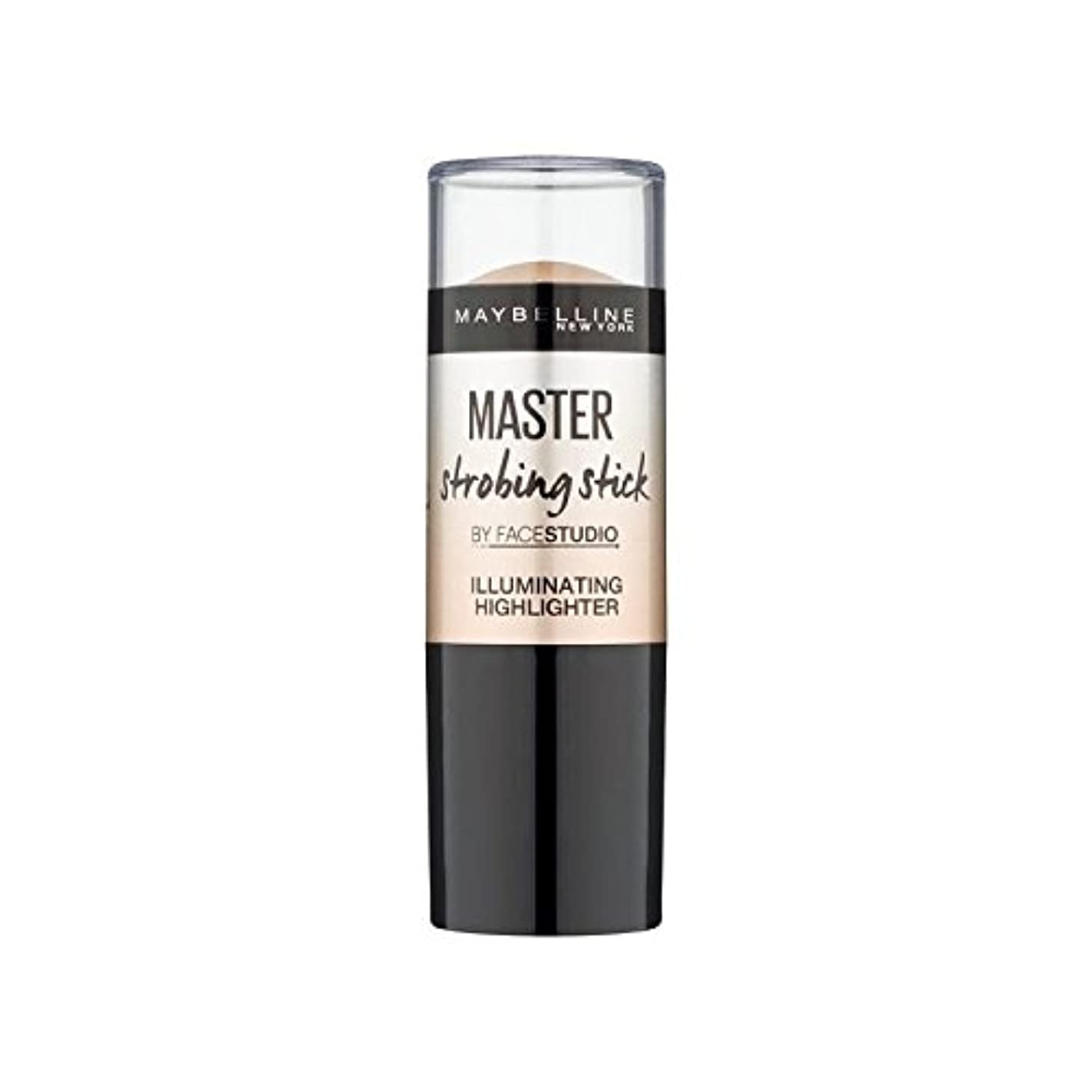 胆嚢カフェテリア電報メイベリンマスターストロボスティック媒体 x2 - Maybelline Master Strobing Stick Medium (Pack of 2) [並行輸入品]