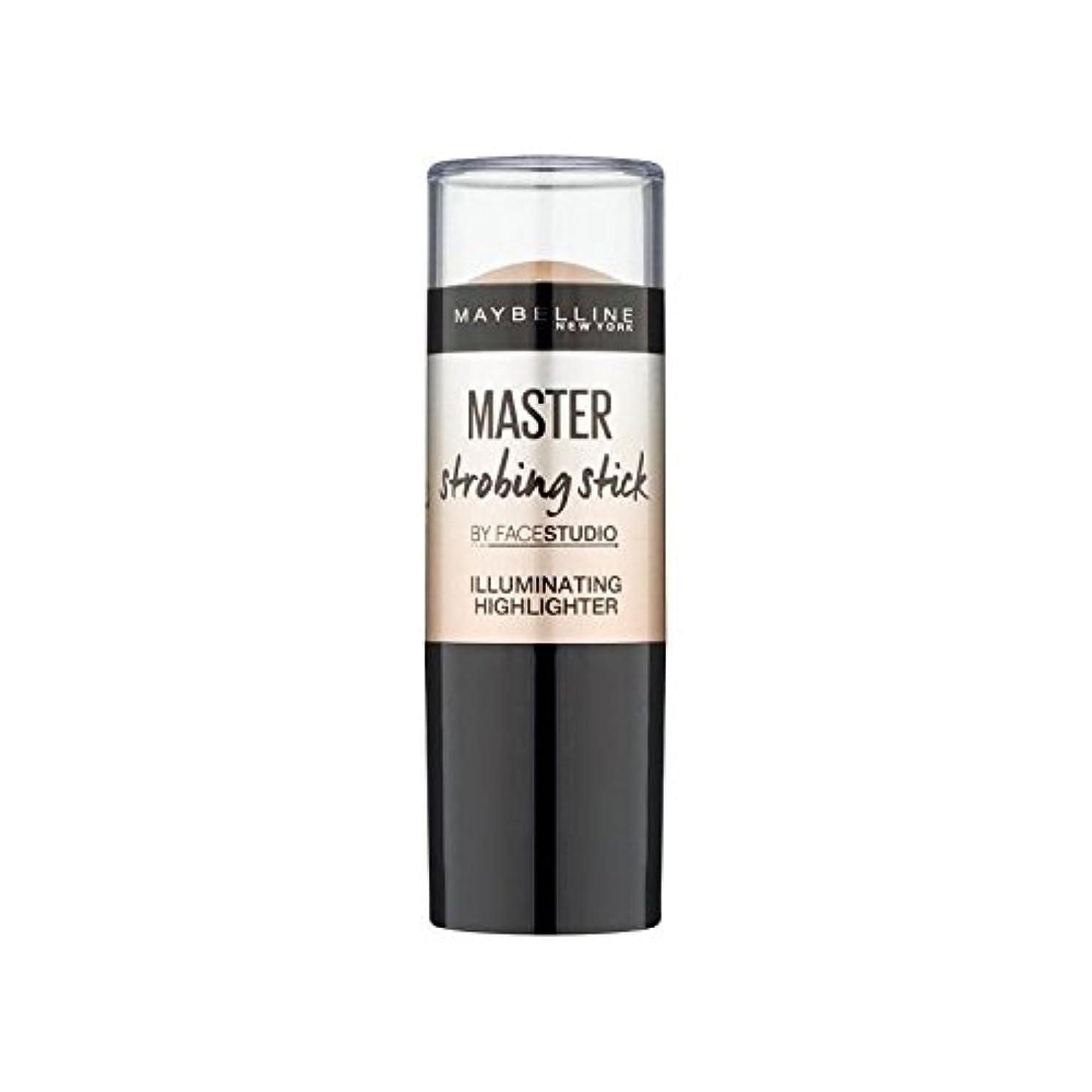 女王ほぼ練るメイベリンマスターストロボスティック媒体 x2 - Maybelline Master Strobing Stick Medium (Pack of 2) [並行輸入品]