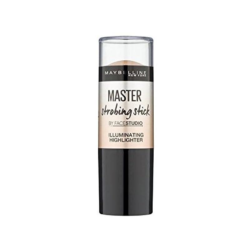 汚染されたグリーンバック露骨なMaybelline Master Strobing Stick Medium (Pack of 6) - メイベリンマスターストロボスティック媒体 x6 [並行輸入品]