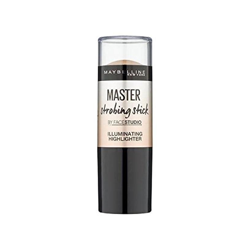 名誉種をまくに対処するメイベリンマスターストロボスティック媒体 x4 - Maybelline Master Strobing Stick Medium (Pack of 4) [並行輸入品]