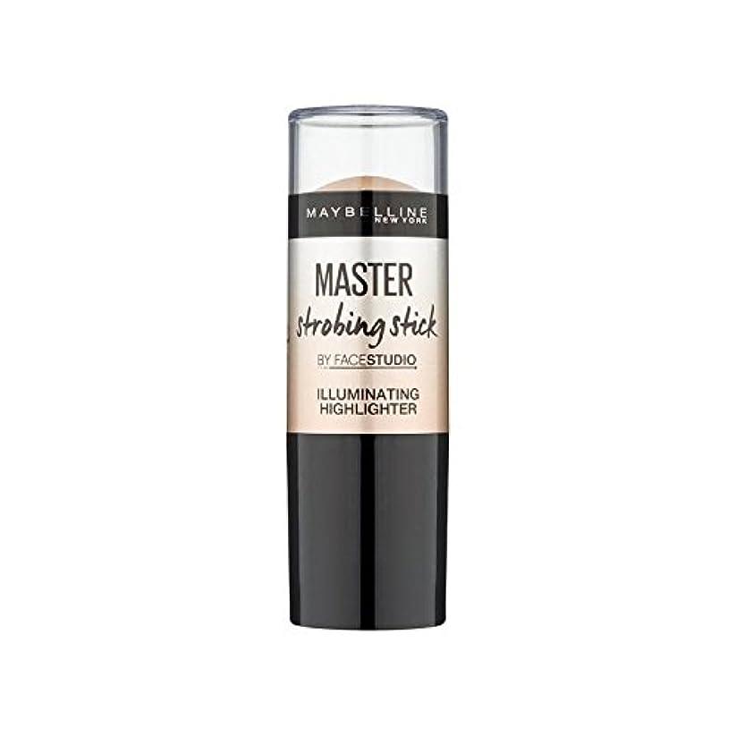 お気に入り経度エクスタシーメイベリンマスターストロボスティック媒体 x4 - Maybelline Master Strobing Stick Medium (Pack of 4) [並行輸入品]
