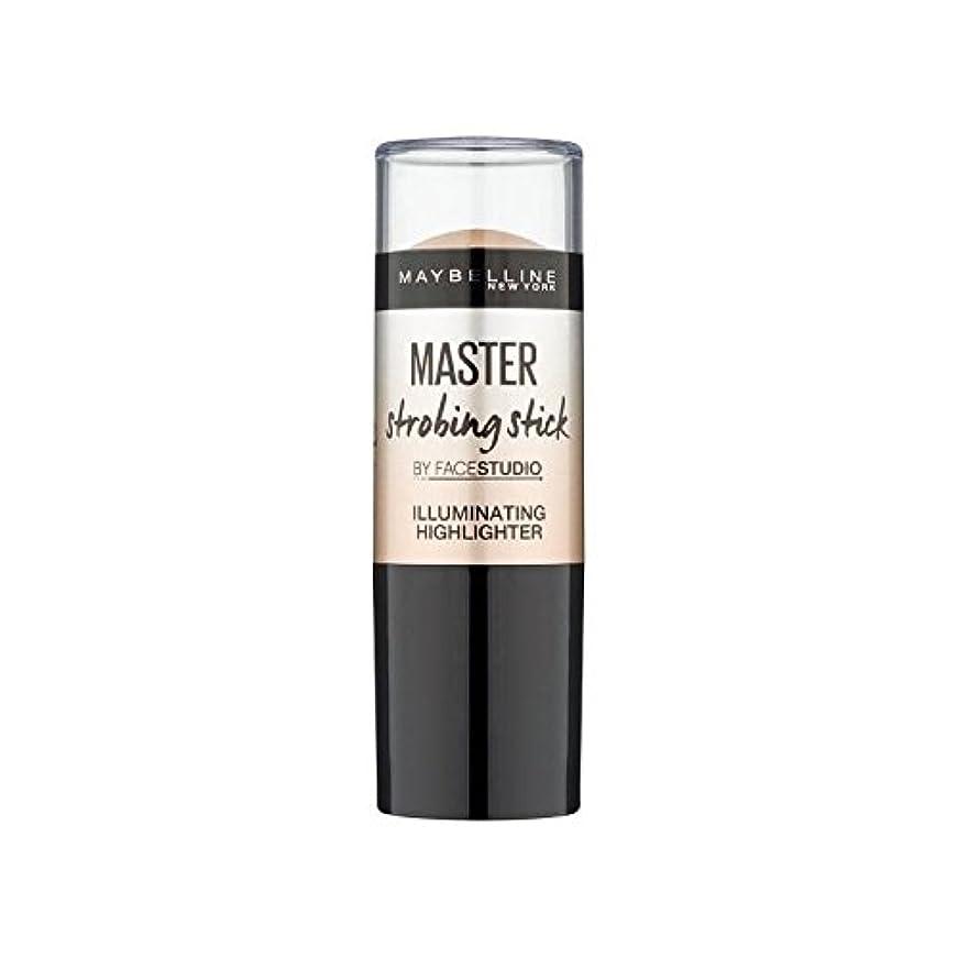 飢饉有害な賃金メイベリンマスターストロボスティック媒体 x4 - Maybelline Master Strobing Stick Medium (Pack of 4) [並行輸入品]