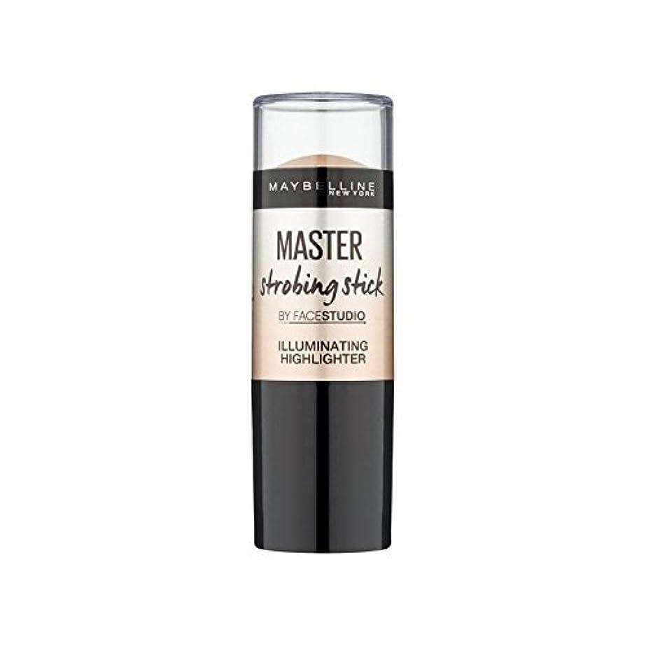 どこ講義チャンバーメイベリンマスターストロボスティック媒体 x4 - Maybelline Master Strobing Stick Medium (Pack of 4) [並行輸入品]