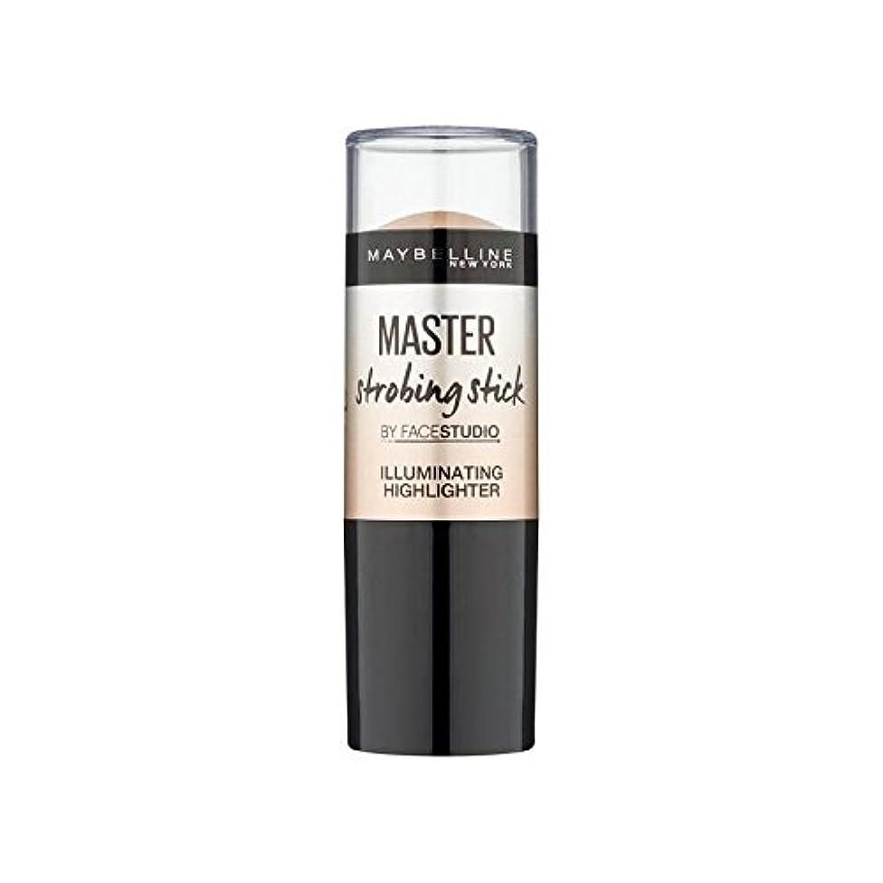 ネクタイ兵器庫エンディングMaybelline Master Strobing Stick Medium (Pack of 6) - メイベリンマスターストロボスティック媒体 x6 [並行輸入品]