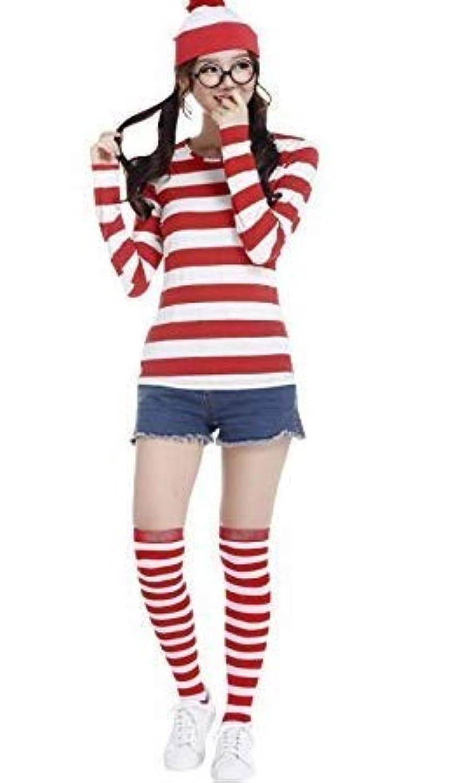 長方形症候群ペパーミントサイズレディース Dawdy ウォーリー コスプレ 衣装 仮装 レディース