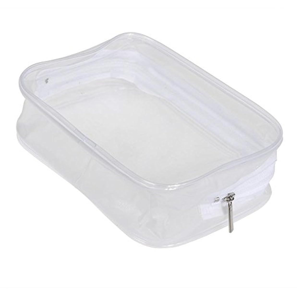 なんでも協力する推進Ecotrump PVC透明 化粧ポーチ 化粧バッグ 化粧道具 レディース 防水 ポータブル プラスチック 小物入れ ミニ財布 コインポーチ 洗面用具入れ