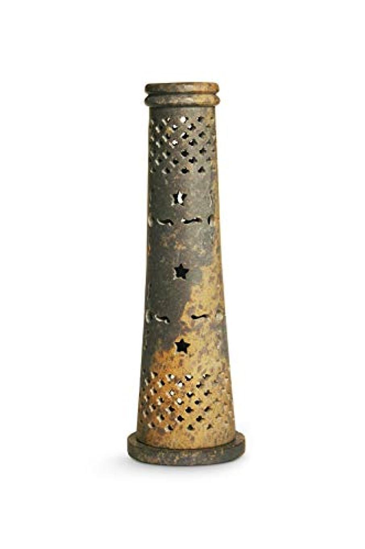 悩み中世の出血ナグチャンパのお香。 Tower Cone Stand
