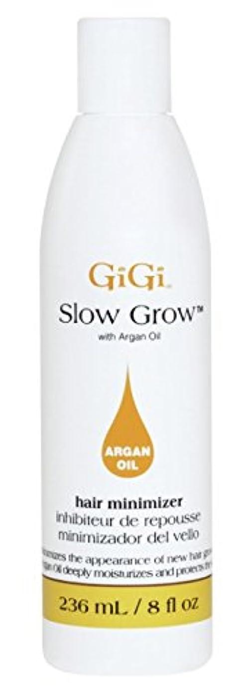 鏡音楽リハーサルGigi Slow Grow With Argan Oil Hair Minimizer 235 ml (並行輸入品)