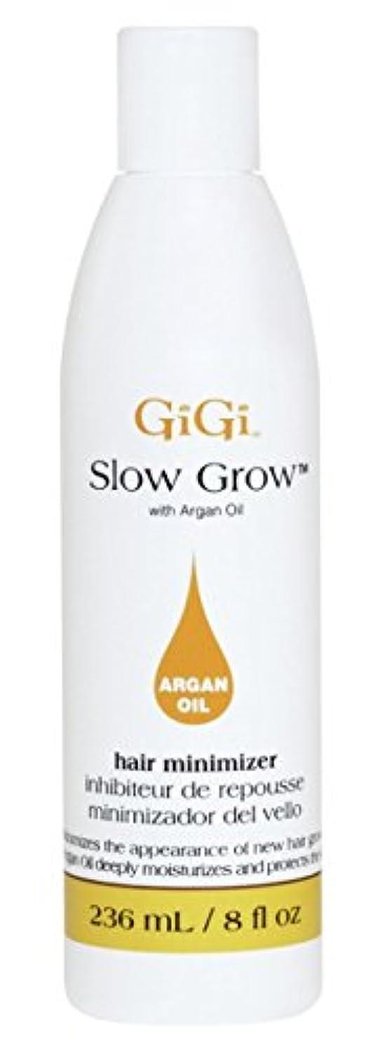 腐ったロック解除絞るGigi Slow Grow With Argan Oil Hair Minimizer 235 ml (並行輸入品)