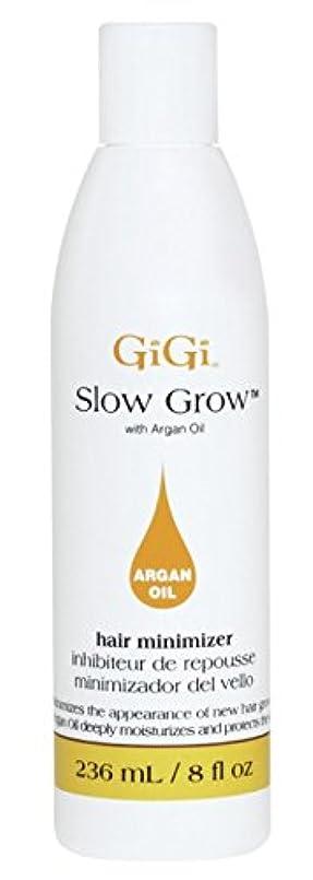 言い直す女将よろめくGigi Slow Grow With Argan Oil Hair Minimizer 235 ml (並行輸入品)