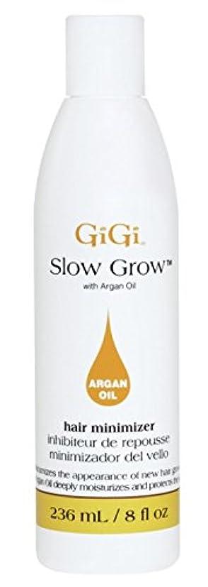 休日に警告する文化Gigi Slow Grow With Argan Oil Hair Minimizer 235 ml (並行輸入品)