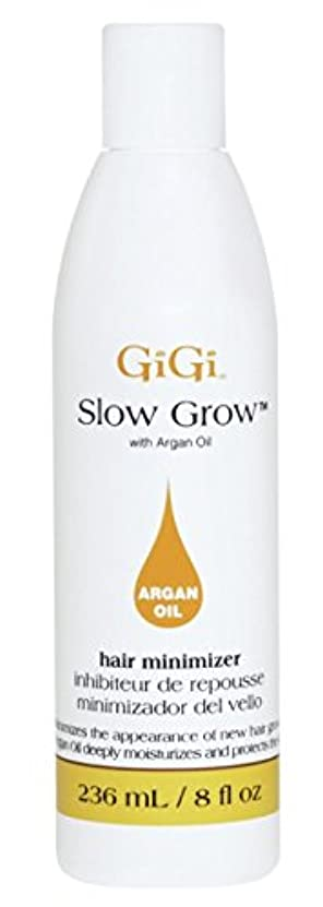 汗ケントダウンタウンGigi Slow Grow With Argan Oil Hair Minimizer 235 ml (並行輸入品)