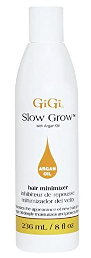 つぶすファンシー謝罪Gigi Slow Grow With Argan Oil Hair Minimizer 235 ml (並行輸入品)