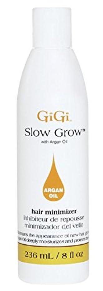 ピニオン危険代表Gigi Slow Grow With Argan Oil Hair Minimizer 235 ml (並行輸入品)