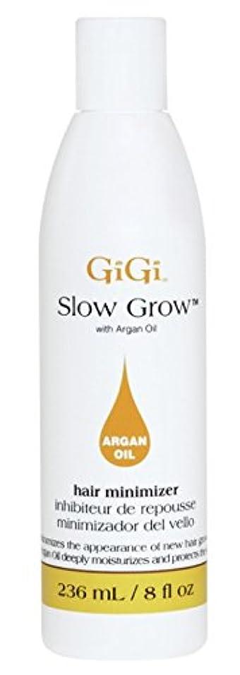 ポール運動する儀式Gigi Slow Grow With Argan Oil Hair Minimizer 235 ml (並行輸入品)
