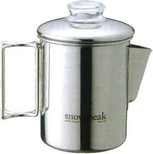 スノーピーク ステンレスパーコレーター6カップ