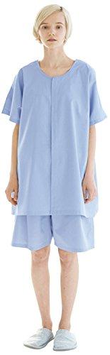ナガイレーベン 鍼灸パンツ *SG-303 ブルー L 整体・整骨 患者衣 1枚
