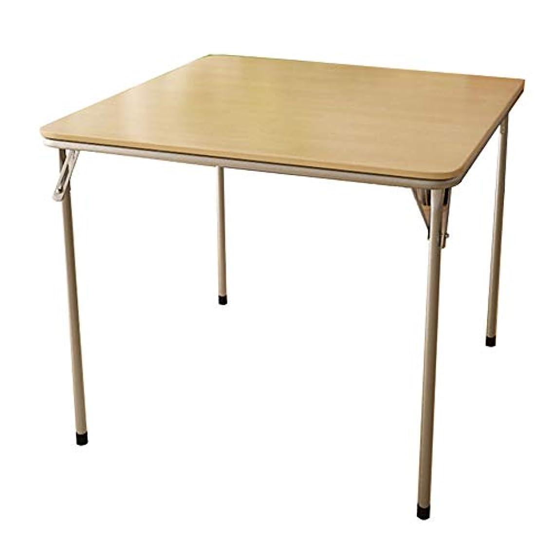 NJLCピクニック用テーブル、シンプル折りたたみテーブル、ポータブルスクエアテーブル多機能折りたたみテーブル,B