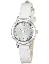 [アンジェーヌ]ingenu 腕時計 ingenu サマーリゾート限定 限定600本 ソーラー スワロフスキー入り白文字盤 白バンド AHJD717 レディース