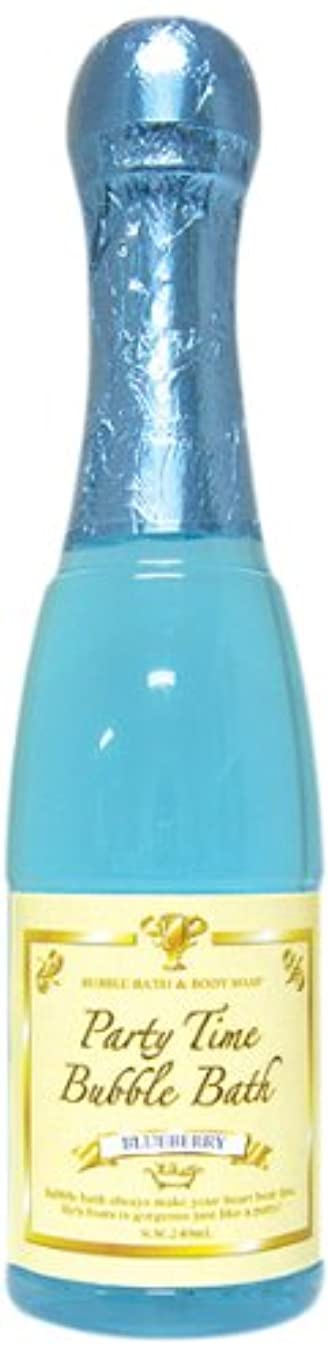 男性図猛烈なノルコーポレーション バブルバス パーティータイムバブルバス 240ml ブルーベリー OB-PAB-1-4