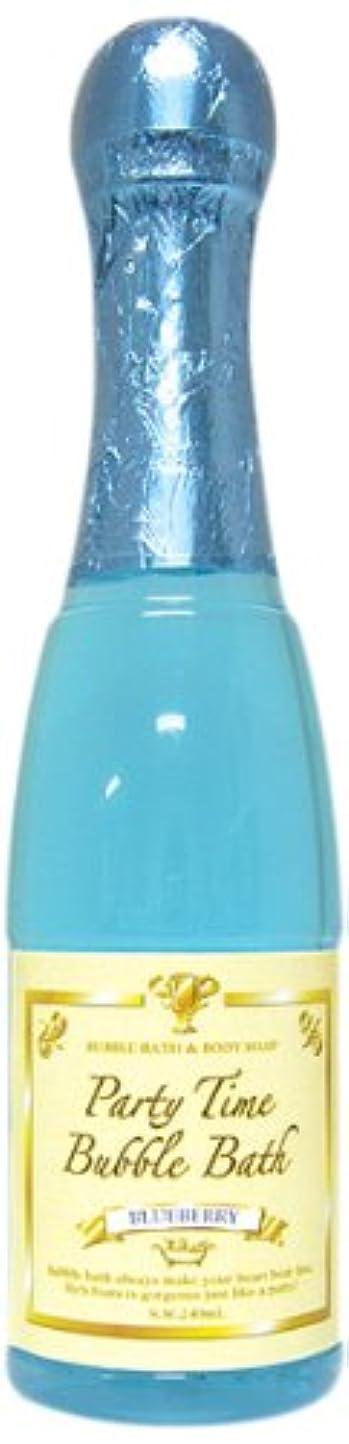 暴力軽蔑ブランド名ノルコーポレーション バブルバス パーティータイムバブルバス 240ml ブルーベリー OB-PAB-1-4