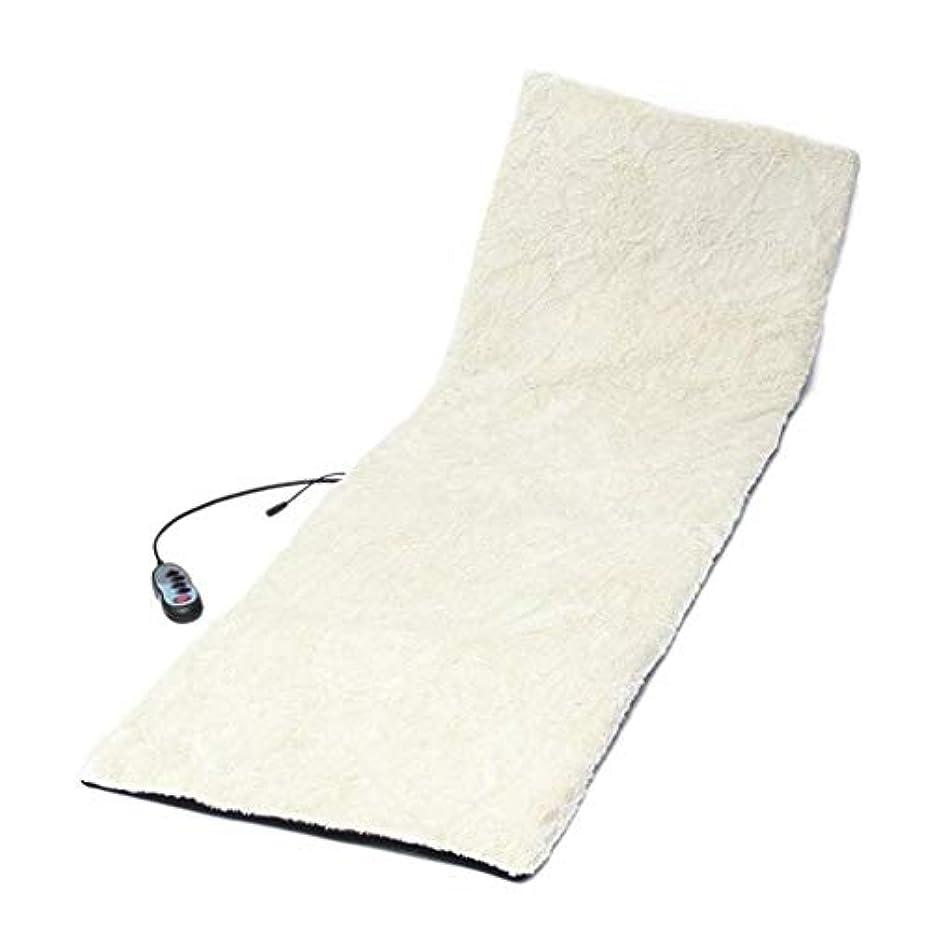 ブレイズスポンサー乳製品マッサージクッション、温水マッサージマットレス、リラックスバックマッサージ、操作が簡単