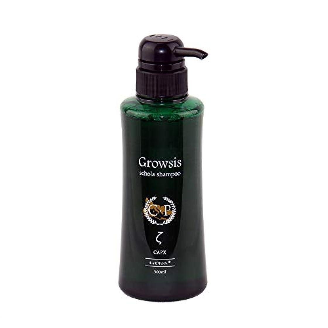 名門中欠陥抜け毛に悩んだらグロウシス スコラシャンプー ゼータ 300ml 「ミノキシジル」の3倍効果「キャピキシル」を業界最高濃度配合 うるおい成分「ベタイン」と「シラノール(ケイ素)」増量、ふけ、かゆみにも悩む人に。