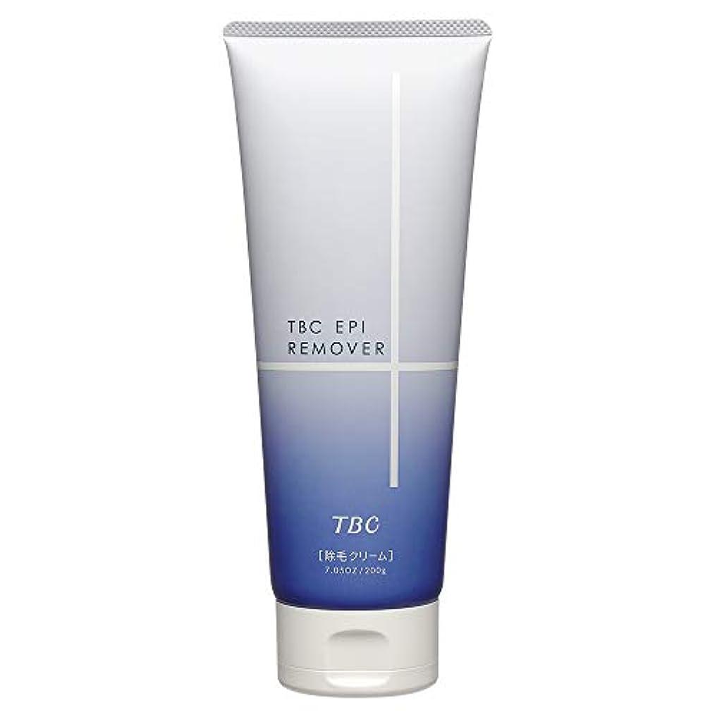 財産公使館定常エステティックTBC TBC エピリムーバー クリーム フローラルの香り 200g