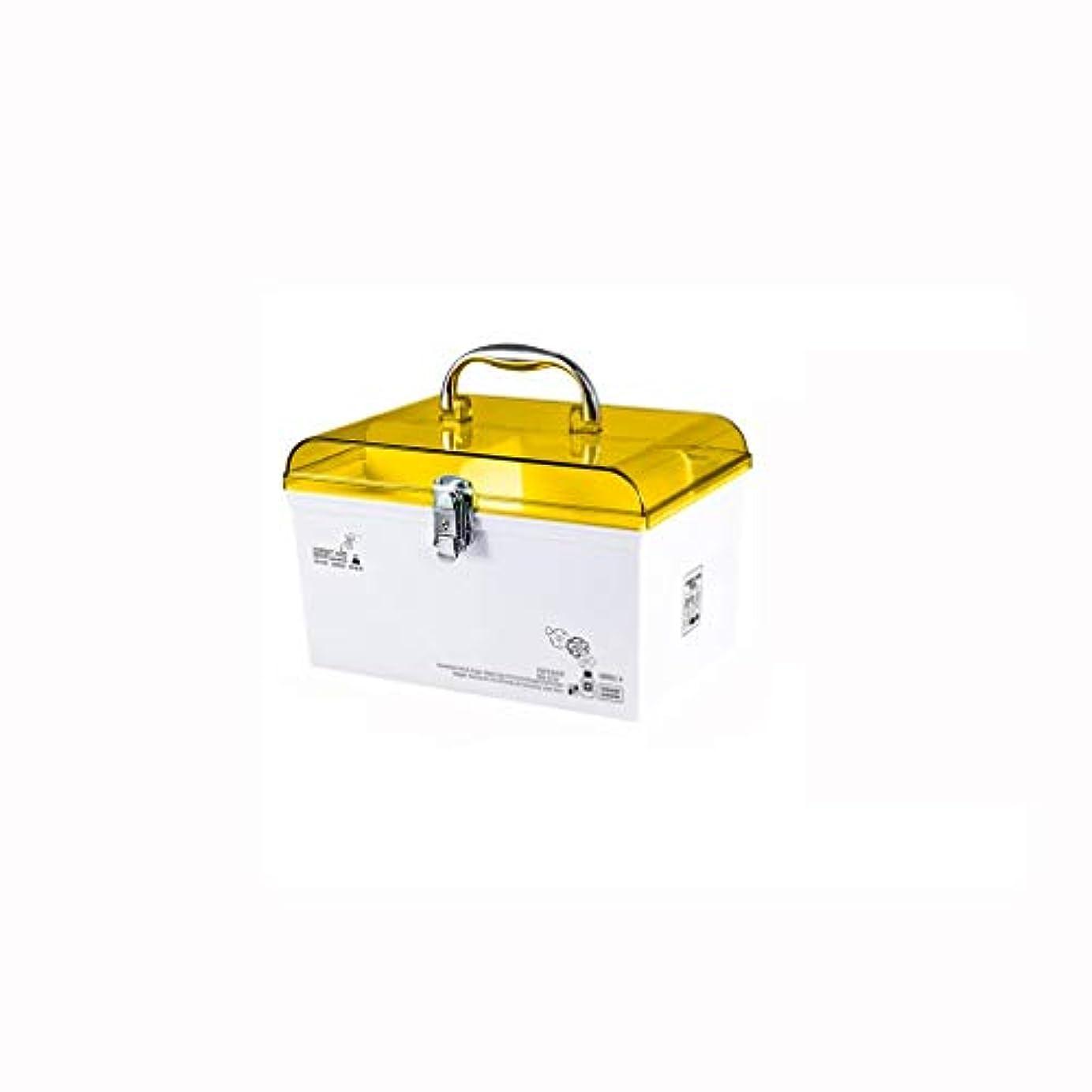 鳴り響くパトロン修羅場家庭用多層救急箱医療薬収納ボックス携帯用薬箱安全ロック AMINIY (Color : Orange, Size : 30.4×19.5×18.5cm)