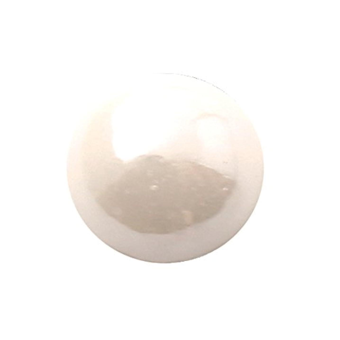 仲介者投げる幻想的グラスパールラウンド 3mm(各50個) ホワイト