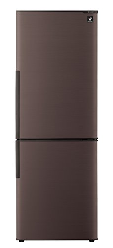 シャープ 冷蔵庫 スリム シンプルデザイン プラズマクラスター搭載 271L ブラウン SJ-PD27C-T