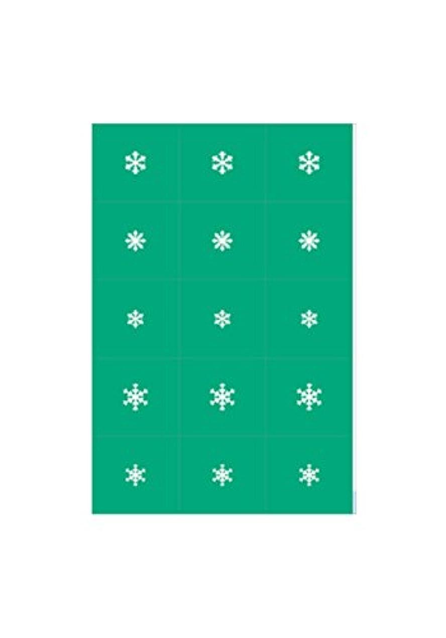 タイト体操経験者エアジェル マスキング 雪の結晶