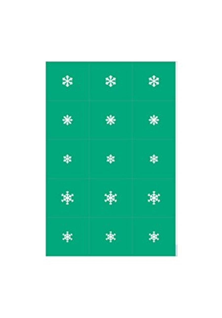 仮称ウィンク良心的エアジェル マスキング 雪の結晶