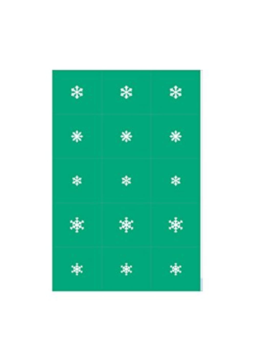 マークアコードコインエアジェル マスキング 雪の結晶