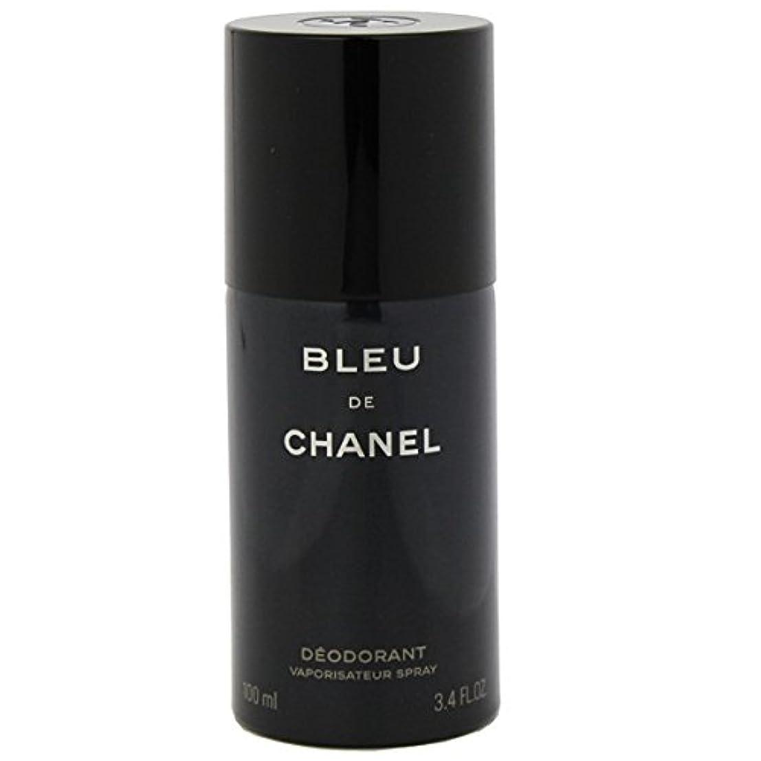 苦しめる枯渇これらシャネル(CHANEL) ブルー ドゥ シャネル デオドラントスプレー 100ml[並行輸入品]