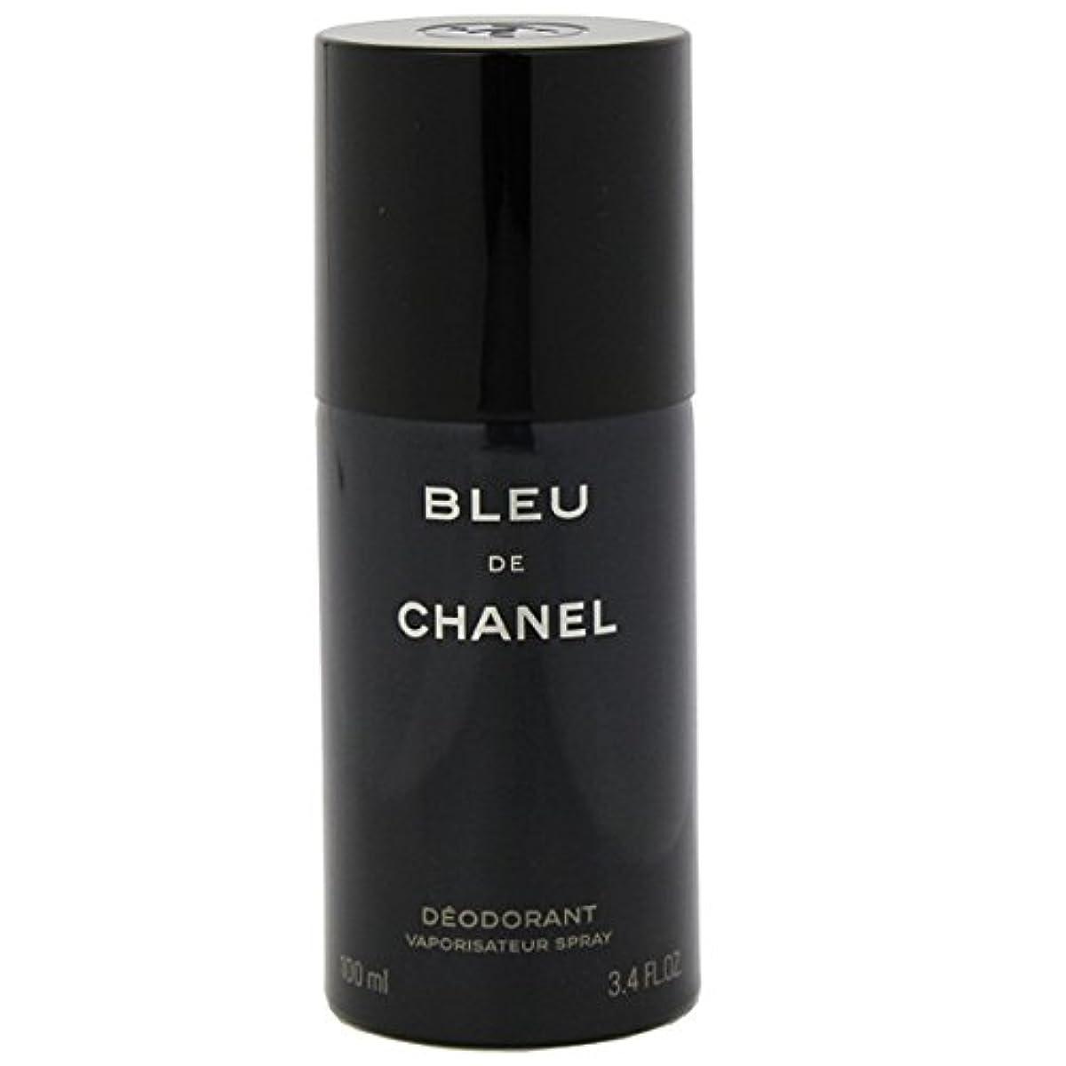 カウント最小化する鏡シャネル(CHANEL) ブルー ドゥ シャネル デオドラントスプレー 100ml[並行輸入品]