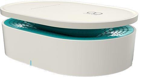 置くだけ簡単 OAXIS Bento ベントー ワイヤレススピーカー  White/Green