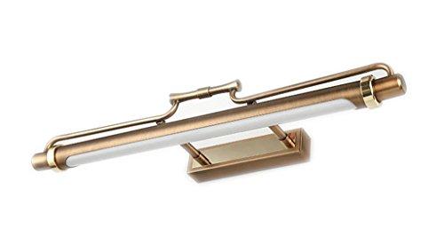 ヨーロッパスタイルレトロ防水LEDミラーフロントライトウォームホワイト47cm(8ワット)62cm(11ワット)83(15ワット) ( サイズ さいず : 83 (15 W) )