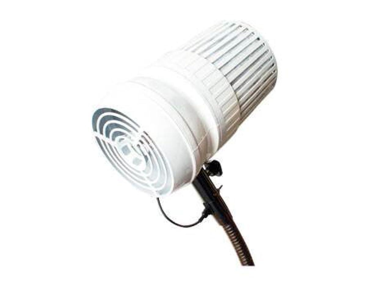 ドレイン鍔ポスターサンフラワー集塵機パールホワイト *デスク取り付け可能